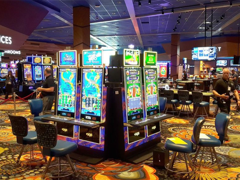 C-K gaming revenues more than double with casino