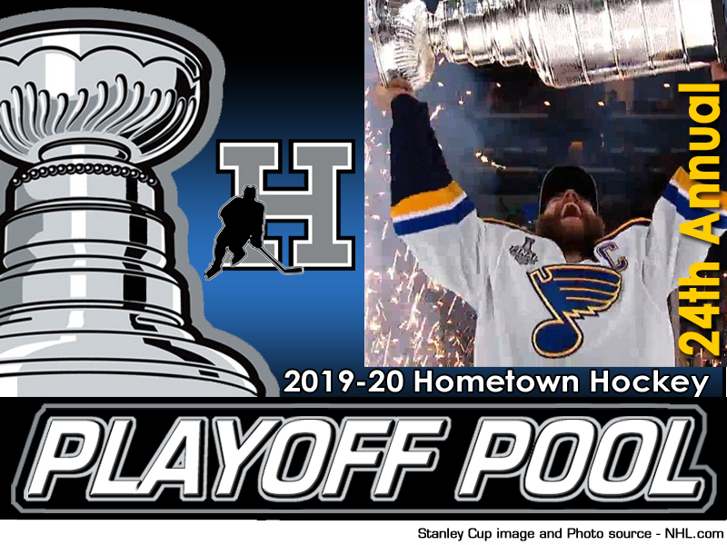 2019-20 Hometown Hockey NHL Playoff Pool - register today